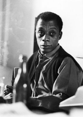 James Baldwin (1924-1987), American writer, 1964. (Photo by Jean-Regis Rouston/Roger Viollet/Getty Images)